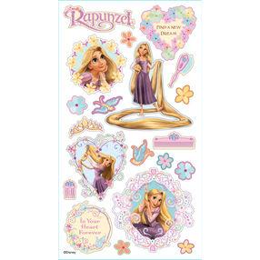 Rapunzel Puffy Stickers_53-30011