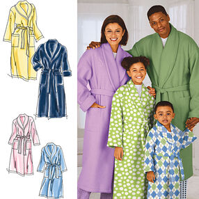 Child's, Teens' and Adults' Robe and Belt