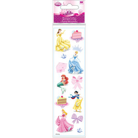 Princess Birthday Dimensional Stickers_51-40013