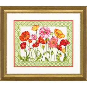Poppy Pattern, Counted Cross Stitch_70-35350
