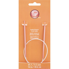 16 Inch Circular Knitting Needles Size 7 Aluminum