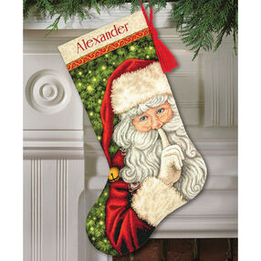 Secret Santa Stocking, Counted Cross Stitch_70-08938