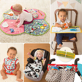 Pattern 8110 Babies' Play Mats, Stroller Accessories, and Bibs