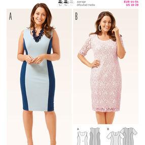 B6676 Women's Dress