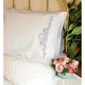 Wildflowers Pillow Cases, Embroidery_73197