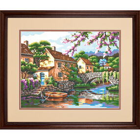Village Canal, Paint by Number_73-91440