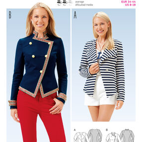 Burda Style Pattern 6661 Misses' Jacket