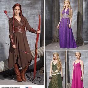 Misses' Fantasy Costumes