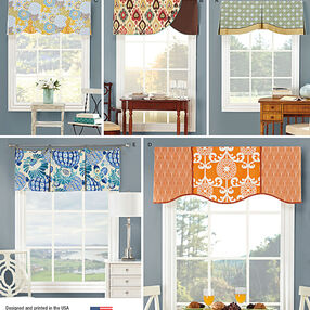 "Valances for 39 1/2"" Wide Windows"