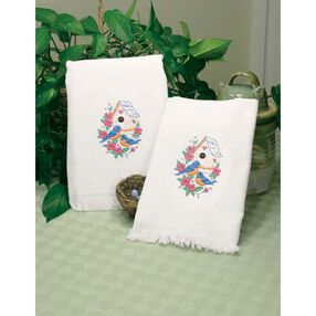 Birds Guest Towels, Embroidery_73219