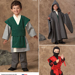 Boys' Easy To Sew Costumes