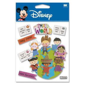It's A Small World Dimensional Stickers_DJBV03