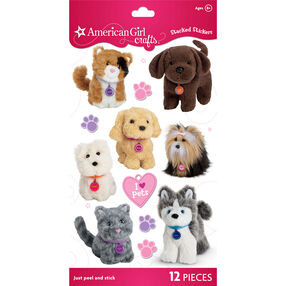 My American Girl® Pets Stacked Stickers_30-659780