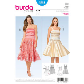 Burda Style Pattern B6535 Misses' Strap Dress