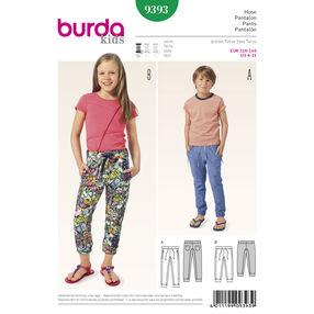 Burda Style Pattern 9393 Children's pants