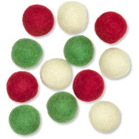 Wool Felt Holiday Balls_72-08229