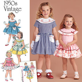 Vintage 1950's Dress for Toddler and Child