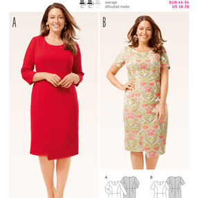 Burda Style Pattern 6675 Women's Shirt and  Dress