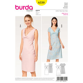 Burda Style Pattern B6530 Misses' Top Shift Dress