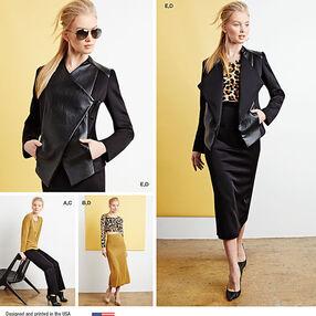 Misses' Sew Stylish Sportswear Pattern