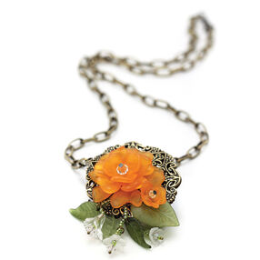 Dynamic Filigree Flower Necklace Kit_56-23064