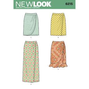 Misses' Skirt in Three Lengths