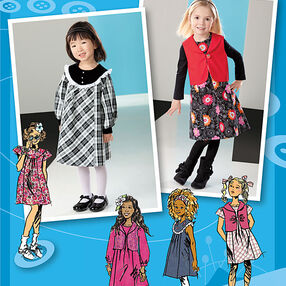 Toddler's & Child's Dresses. Project Runway Collection