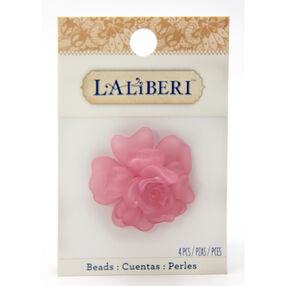 Pink Rose Bead Set_56-10066