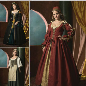 EA448801 Premium Print on Demand Costume Pattern