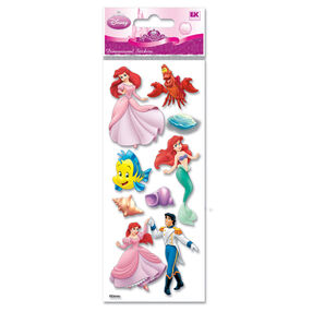 Little Mermaid Dimensional Stickers_DTODLM