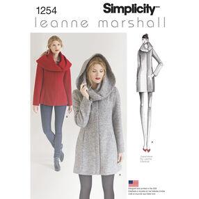 Misses' Leanne Marshall Easy Lined Coat or Jacket