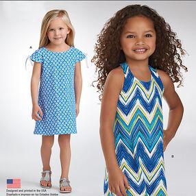 It's So Easy Child's Knit Dresses