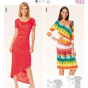 B6641 Misses' Dress