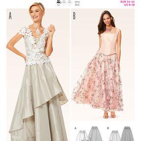 Burda Style Pattern 6647 Misses' Skirt