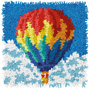 Hot Air Balloon, Latch Hook_72-75195