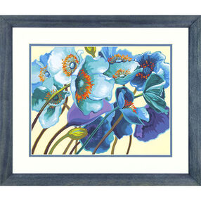 Blue Poppies, Paint by Number_73-91657