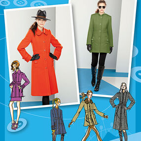 Misses' Coat or Jacket. Project Runway Collection
