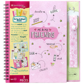 Friends Travel Size Scrap & Stuff Book_30-676480