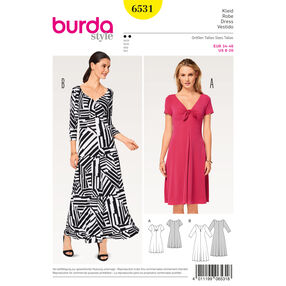 Burda Style Pattern B6531 Misses' Shirt Dress