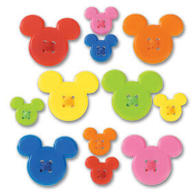 Mickey Adhesive Buttons_DBM001