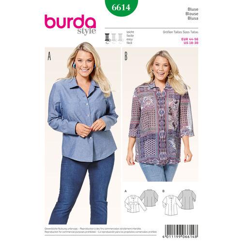 Burda Style Pattern 6614 Blouse