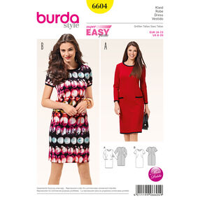 Burda Style Pattern 6604 Dress
