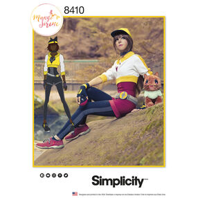 Simplicity Pattern 8410 Misses' Costume