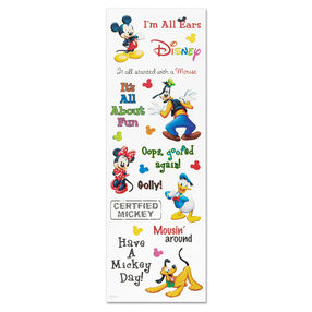 Mickey Phrase Sticker_DPHRM01