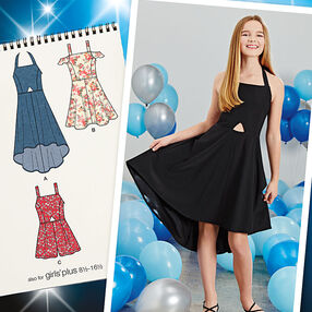 Girls' and Girls' Plus Dresses and Romper
