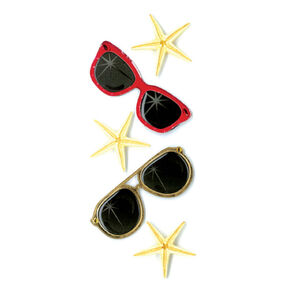 and Sunglasses Stickers_50-40051