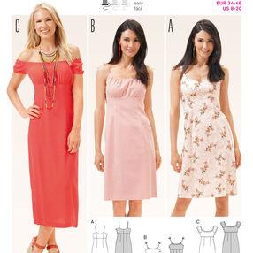 B6686 Women's Dress