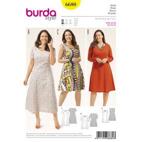 Burda Style Pattern 6680 Women's Dress