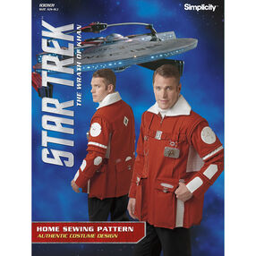 Simplicity Pattern 100101 Unisex Star Trek Jacket