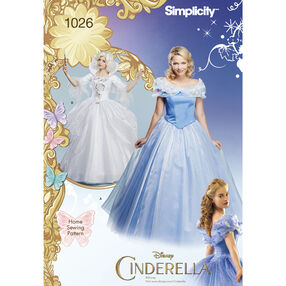 Disney Cinderella and Fairy Godmother Misses Costumes
